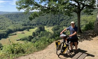 Joris zoekt de grens op: dertiger met autisme onderneemt fietstocht op Belgische landsgrenzen