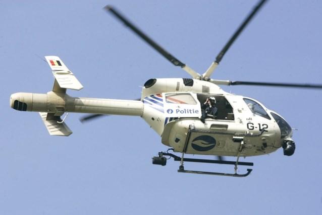 Politiehelikopter zoekt boven Gent naar dementerende dame én gevluchte verdachte