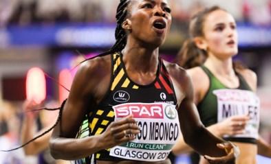 Cynthia Bolingo toont snelle benen in Nijvel met winst op de 100 en 200 meter