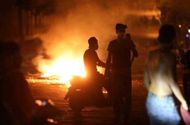 Gewonden bij protest tegen regering na explosie in Beiroet