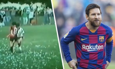 Unieke beelden: Lionel Messi schudde ook al op z'n tiende gruwelijke panna's uit z'n sloffen