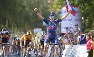 Jordi Meeus wint tweede etappe in Tsjechië voor Belgisch kampioen Tim Merlier