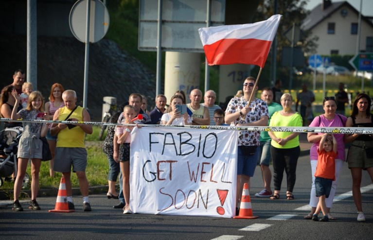 """Fabio Jakobsen opnieuw wakker na horrorcrash: """"Hij kon armen en benen bewegen en communiceerde met de dokters"""""""