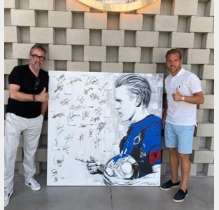 Na Sergio Herman en Marc Van Ranst krijgt ook Ruud Vormer eigen portret van kunstenaar Frank