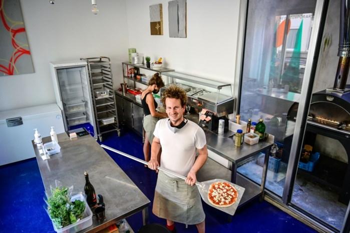 Pizza financiert kunst: Pizza Gallery opent op Krugerplein