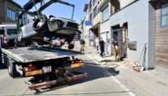 """Porsche knalt tegen gevel van flatgebouw: """"Enorme knal en meteen daverde het hele gebouw"""""""