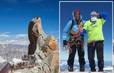 """Bergbeklimmer Koen maakt statement op top Mont Blanc: """"Mondmasker is overal belangrijk"""""""