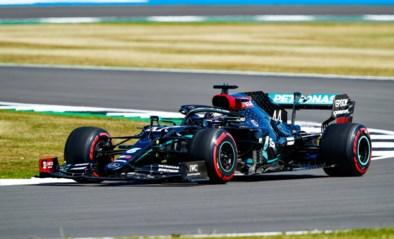 Mercedes blijft domineren in Silverstone, Sebastian Vettel in de problemen