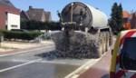 Beerkar koelt straat af met... water