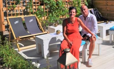 """Op het terras van Birgit en Serge waan je je in de Provence: """"We wilden eigenlijk uit de horeca stappen, maar het bleef kriebelen"""""""