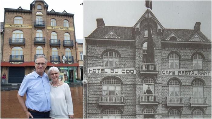 """Hoe een houten blokje de geschiedenis van Hotel du Coq blootlegde: """"Tijdens beide oorlogen woonden hier Duitse soldaten"""""""
