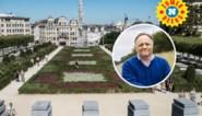 ZOEKPLAAT. Marc Van Ranst heeft zich aan de Kunstberg in Brussel verstopt: kan jij hem vinden?