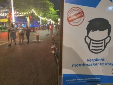 Nultolerantie-actie op mondmaskers in uitgaansbuurt: 65 pv's