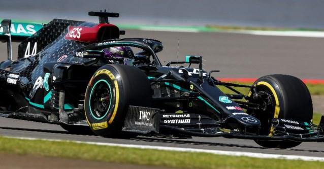 Frustraties bij Max Verstappen, Mercedes blijft domineren in Silverstone