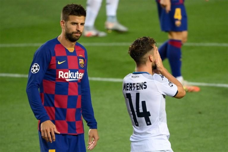 Barcelona telt Napoli nog voor de rust uit en stoot vlotjes door naar kwartfinales Champions League