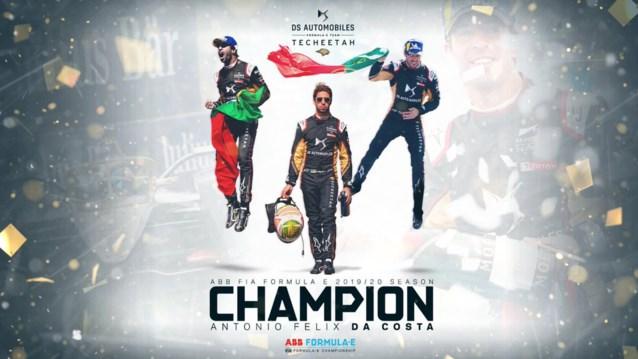 Antonio Felix da Costa kroont zich tot Formule E-kampioen, Stoffel Vandoorne pas twaalfde