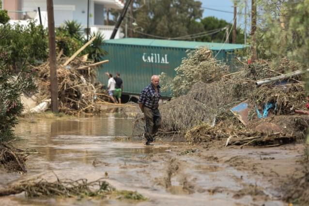 Minstens vijf doden bij overstromingen in Griekenland