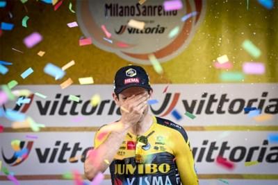 """5 vragen aan Wout van Aert na zijn zege in Milaan-Sanremo: """"Mijn limieten? Buiten de grote rondes ligt zowat alles binnen mijn mogelijkheden"""""""