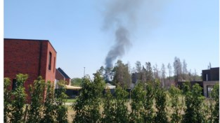 Snelle respons brandweer voorkomt grote weidebrand