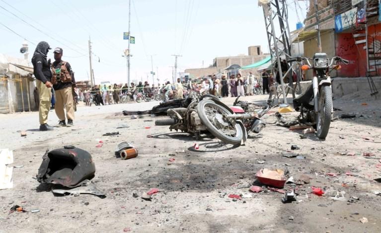 Zes doden bij explosie in Pakistan