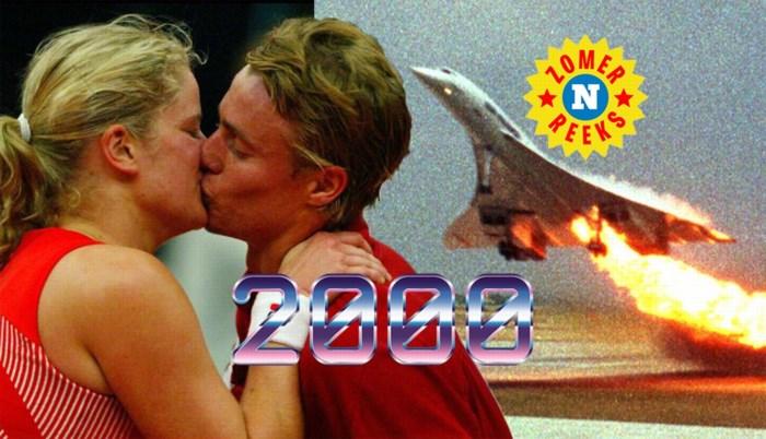 Crash van de Concorde, de nieuwe vlam van Kim Clijsters en een gigantisch 'one zomerhit wonder': dit was de zomer van 2000