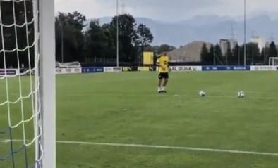 """Dollen bij Borussia Dortmund: Thomas Meunier maakt indruk met rabona's, Erling Haaland is plots """"Ballverteiler"""""""