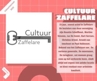 Kies zelf de publieksprijs voor jouw cultuurlaureaat: Cultuur Zaffelare