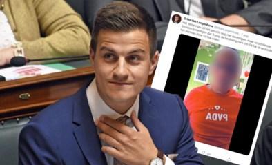 """School woest om werknemer met beperking in tweet Van Langenhove: """"Hij wordt betaald voor parlementair werk, en niet om de clown uit te hangen ten koste van anderen"""""""