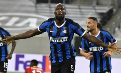 Lukaku leidt Inter naar halve finales en schrijft twee records op z'n naam