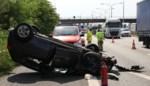 Twee gewonden na crash op E17