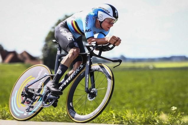 Remco Evenepoel verdedigt Europese titel tijdrijden, Greg Van Avermaet en Oliver Naesen als ploegmaats in wegrit