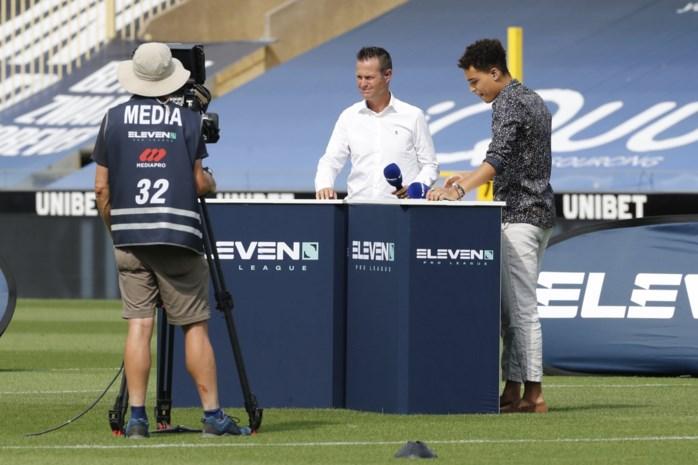"""Onze reporter keek naar het eerste voetbalweekend op Eleven: """"Oef, geen zangers, acteurs en motorcrossers"""""""