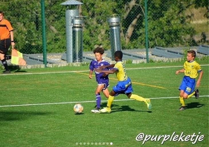 Twaalfjarige zoon van 'bad boy' Nicolas Anelka speelt mee bij Anderlecht