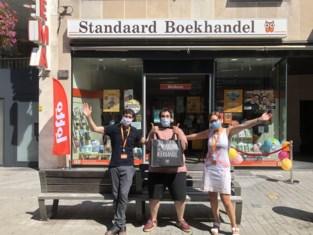 Anne en Peter vieren officiële heropening Standaard Boekhandel