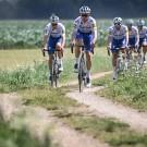 De renners van Deceuninck - Quick-Step gingen het parcours in Hageland al verkennen.