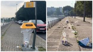 Extra vuilnisbakken in strijd tegen afvalberg aan Watersportbaan