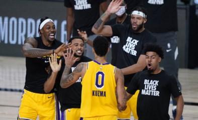 NBA. LA Lakers winnen dankzij driepunter in slotseconde