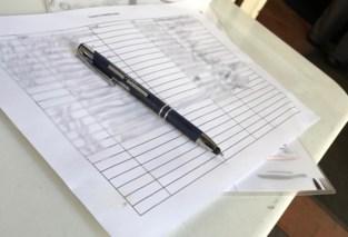 Contactlijsten liggen open en bloot in Gentse horecazaken, ook al mag dat niet