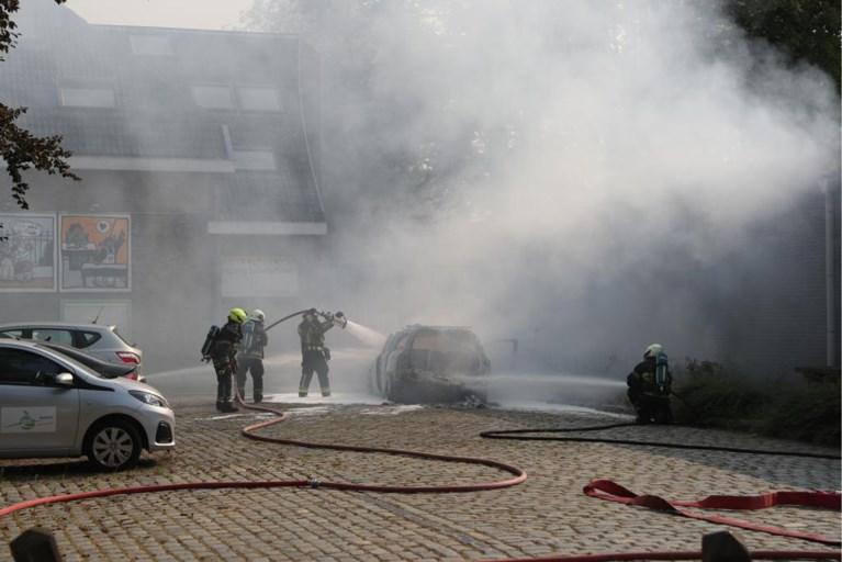 Auto uitgebrand door technisch defect