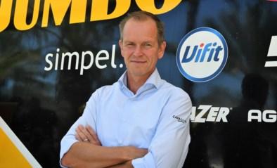 """Richard Plugge, manager van Jumbo-Visma, heeft er tien bewogen dagen opzitten: """"Wout Van Aert is een heel grote meneer"""""""