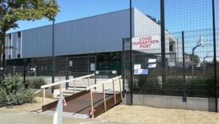 Triagecentrum verhuist vanuit turnzaal weer naar containers