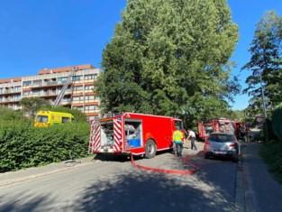 Uitslaande brand richt zware schade aan op volledige verdieping van appartementsgebouw: tientallen bewoners geëvacueerd