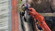Vier grote Duitse mortieren gevonden bij graafwerken in stadscentrum