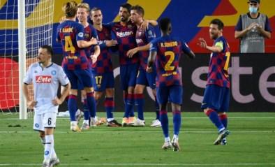Speler van FC Barcelona loopt coronabesmetting op, CL-duel niet in gevaar
