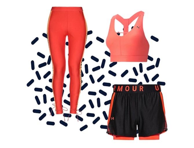 De sportkledingtrends van 2020: tie dye, oranje en korte trainingsjasjes