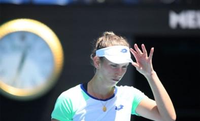 Elise Mertens voorbij Italiaanse Camila Giorgi naar kwartfinales in Praag