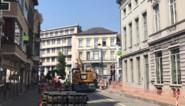 Werken in centrum hebben stevige impact: tijdelijk auto's toegelaten op stukje Korenlei