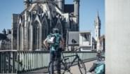 """Mondmasker blijft verplicht voor fietskoeriers in Gent: """"Cijfers laten geen versoepeling toe"""""""
