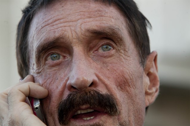 Antivirusontwikkelaar McAfee opgepakt omdat hij string als mondmasker droeg