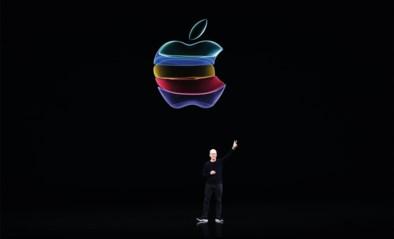 """Apple flirt als eerste bedrijf met 2.000 miljard dollar beurswaarde: """"Echt alles zit het bedrijf mee"""""""